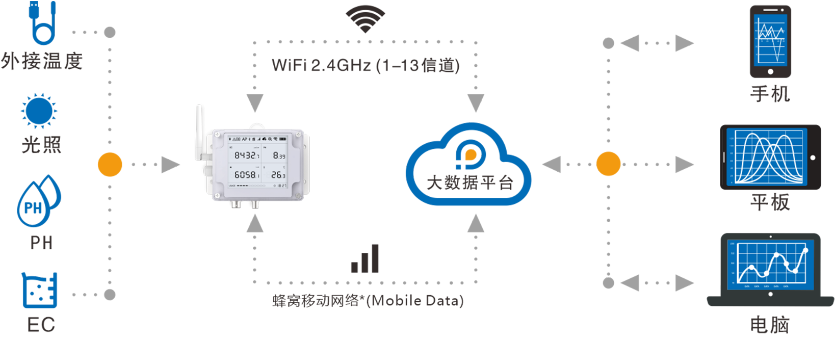 WiFi / 移动网络*双接入